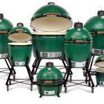 big green egg kamado style grill